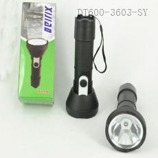 XJ-181 Flashlight Powered By 2 1# Battery With Rope