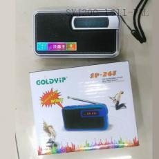 SP-263 Radio With LED Light Rope Display Screen 1200mah Lithium Battery