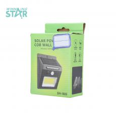 SH-1605 Solar Induction Lamp with colored box 124*95*47mm