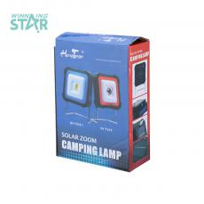 RY-T919 Solar Energy Camping Lamp with colored box 11.5*11.5*4.7cm