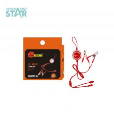 SA-908 Hot Sale SUNAFRICA  Clip Charger with 2 Sockts 6101 /V8, 2 Clips,0.12*8 pcs Copper Wire, 2 *USB.