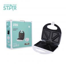 ST-9302 High Quality Portable 2 Slice Sandwitch Maker with Non Stick Plate