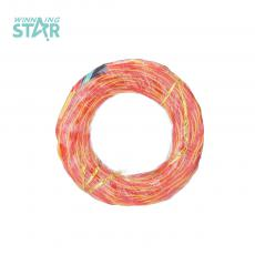 Transparent Red-Yellow Copper Clad Aluminum Wire Outside Diameter:2.5mm Inside Diameter:2*14*0.12