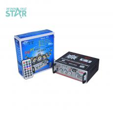 YT-326A 180W Power Amplifier color box with FM/USB/SD 5.5*14.5*15CM