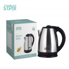 WST-05 Hot Sale 1.8l Stainless Steel Electric Coffee Kettle with Double Crystalian Control Anti-Dry Burning Protection Automatc Shot Off Protection Copper Cord