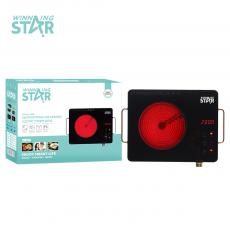 ST-9606 High Quality Vitroceram Panel  Portable Single Burner Electric Infrared Cooker for Home Travel