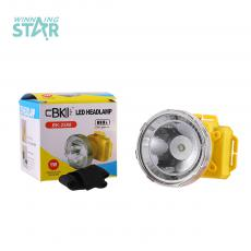 BK-2588  New Style  1W    Head Lamp 3 PC AA Cell Workable 7cm Diameter