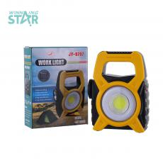 JY-9787 New Style  1 W COB Rechargeable Solar Portable  COB Handle Lamp with Rould Tube 1500mAh Lithium Battery 3 Step Switch