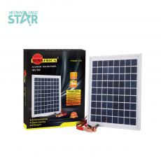 Hot Sale 5W 18V Polycrystalliance Solar Panel with Aluminum Frame  2 Meter Power Cord.Unit Size 250*190mm