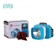 CC-938 New Style   High Power 21 W  Head Lamp 3 Pc AA Cell workable with 2 Step Switch