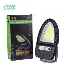 YX-608 New Arrival COB Wall Mountable Solar Street Lamp with   Body Sensor 3 Step Switch 1200 mAh Lithium Battery Unit Size 175*95mm Hot Sale Wholesale in Africa.