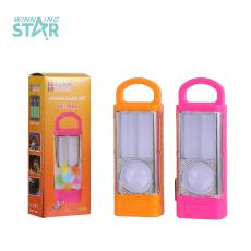 KC-7808  New Arrvial F8 Emergency Light with  2 Led Tube Milky Bulb 3 Pc AA Cell workable 3 Step Switch. Hot Wholesale in Africa