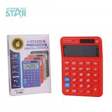 CT-866 New Arrival 12 Large Display Electronic Calculator with 1 Pc AG10 Electronics Unit Size 14.7*10.3*2 Hotsale Wholesale in Africa