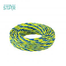 100m PVS Yellow Green Wire