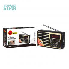SA-8840 SUN AFRICA  New Arrival DC 3.7V USB Rechargeable Speaker with Bluetooth/USB/TF/FM/ DC 5V  LED Display 57mm 4Omh 3 W Speakerphone 1200mAh Lithium Battery Unit size 12*3.5*7.2cm  Hot Sale Wholesale in Africa