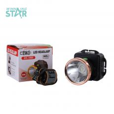 BK-1806 New Arrival Head Light 1W 3*AA Useable. 3 Steps Switch, Head Diameter: 5.4CM. Hot Sale Wholesale in Africa.