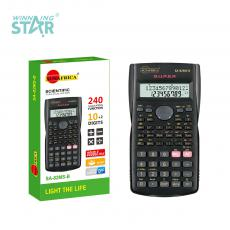 SA-82MS-B New Arrival Sun Africa A10 Digit Scientific Calculator with 2*AG13 Battery, 15X8.1X1.4CM. Hot Sale Wholesale in Africa.