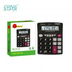SA-111-12 New Arrival Sun Africa Calculator with 12 Digital 1*AA Battery Useable. Hot Sale Wholesale in Africa.