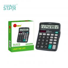 SA-837B New Arrival Sun Africa 12 Digital Electric Calculator 1*AA Battery Useable. Hot Sale Wholesale in Africa.