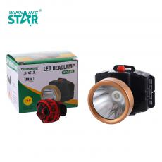 BC-2188 New Arrival 1W Head Light 3*AA Battery Useable with 2 Steps Switch, Head Diameter: 5.5CM. Hot Sale Wholesale in Africa.