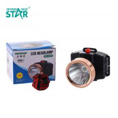BC-2199 New Arrival 1W Head Light 3*AA Battery Useable with 2 Steps Switch, Head Diameter: 5.5CM. Hot Sale Wholesale in Africa.