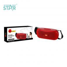SA-8883 New Arrival SUN AFRICA Portable Mini Speaker with Bluetooth/TWS/TF Card/AUX/USB /FM Radio/Phone Battery 1200mAh 2 5W 52mm Speaker Strap