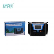 BSC6048 New Arrival 12V/24V 60A Solar Charge Controller with 2 USB Ports Display
