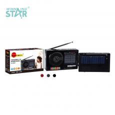SA-8827 New Arrival SUN AFRICA Portable Solar Radio with AM/FM/SW1-7 USB/TF LED Flashlight Solar Panel 18650 Lithium Battery 1200mAh External Antenna