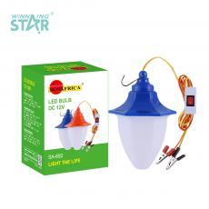 SA-692 New Arrival SUN AFRICA DC12V 18W LED Lamp with 18 2835 Patch Lamp Beads Opal Lampshade PP plastic material aluminum substrate 1m Cable Clip/Hook/Switch