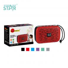 SA-P11 New Arrival SUN AFRICA ABS Portable Mini Speaker with Bluetooth/USB/TF/FM/DC5V 4Ω 3W Speaker Battery 300mAh USB Charging Line Rope