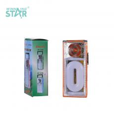 SF-319B New Arrival Emergency Light with F8 Light+12 Lamp Beads O Type Tube Use 3*5# Batteries 2 Step Push Switch Handle