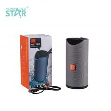 TG113 New Arrival Portable Mini Speaker with Hands-Free Call/Bluetooth/USB/TF/FM Battery 1200mAh USB Charging/Audio Line