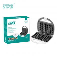 ST-9302H Hot sale Portable 2 Slice Waffle Maker Sandwich Maker with Pilot Lamp Thermal Control
