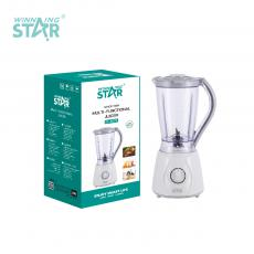 ST-5575 New Arrival WINNING STAR 300W 1.5L Electric Multi-Functional Juicer Blender with AS Cup 304 Stainless Steel 4 Leaf Blade Non-Slip Base BS Plug