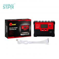 SA-3327 New Arrival SUNARICA 12V/24V 50A Automatic Charge Controller with 2*USB Port LCD Display Temperature Sensing