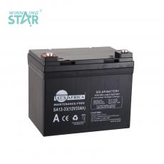 SA12-33 New Arrival SUN AFRICA 12V33AH 9kg UPS Storage Battery 195*130*163mm