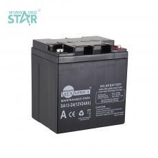 SA12-24 New Arrival SUN AFRICA 12V24AH 6.4kg UPS Storage Battery 166*126*180mm