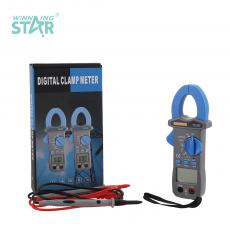 TS-201 New Arrival 3V Digital Clamp Meter Multimeter with LCD Display 61*32mm Battery Test Pen Auto Range NCV