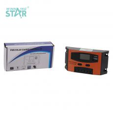 ST2024 New Arrival 12V-24V/20A Charge Controller with 2*USB Port LCD Display