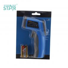 TS-320 New Arrival Infrared Thermometer with -50℃/380℃ ℉/℃ Conversion 9V Battery Data Retention Automatic Shutdown Positioning Laser /LCD Backlight Switch