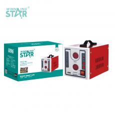 ST-0004 New Arrival WINNINGSTAR 100V-260V/220v+-10% 500W Multifunctional Regulator 3.3kg with Digital Display*2 BS Plug Copper Power Wire Universal Socket 5V/1A USB