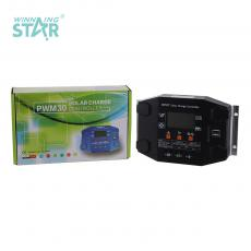 MPPT15-10 New Arrival 12/24V 10A Charge Controller with Double USB LCD Display Aluminum Plate