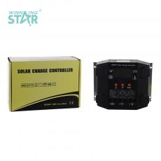MPPT25-25 New Arrival 12/24V 25A Charge Controller with LCD Display Aluminum Plate without USB