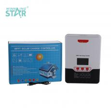 ML2430 New Arrival 12/24V 30A Charge Controller with LCD Display Aluminum Plate Max Solar Power 400W Load 240W