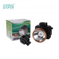 YR-8508 New Arrival 1W Head Light Lamp with Knob Switch 3*5# Battery Headband