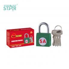 SA-S002 New Arrival SUN AFRICA Side Iron Pad Lock 37.9g with 4 Keys