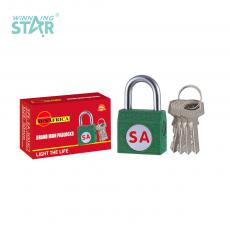 SA-S003 New Arrival SUN AFRICA Side Iron Pad Lock 58.4g with 4 Keys