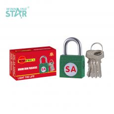 SA-S004 New Arrival SUN AFRICA Side Iron Pad Lock 91g with 4 Keys