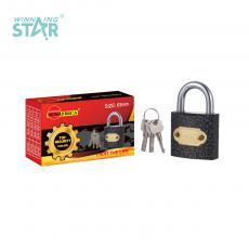 SA-S015 New Arrival SUN AFRICA 63# Plastic Spray Pad Lock 395g with 3 Atomic Crescent Keys