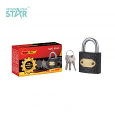 SA-S016 New Arrival SUN AFRICA 63# Plastic Spray Pad Lock 395g with 3 Cross Keys